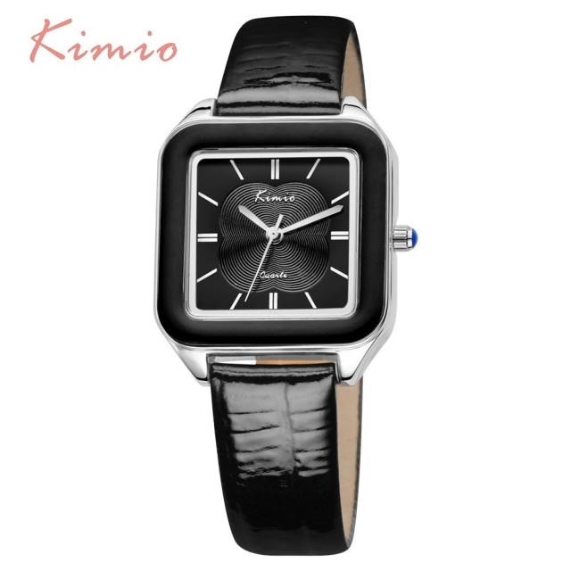 KIMIO Color Square Watch Women Fashion Womans Watch Ladies Watches Top Brand Lux