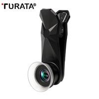 TURATA Universal Super Macro Lens 12 24X Macro Photography Lenses For IPhone Mobile Phone Camera Lens