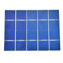 PCS 0.25 W 76x19mm KIT Painel Solar Policristalino Células Solares Poli DIY