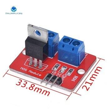 """Smart electronics 0-24V najwyższej Mosfet, proszę kliknąć na przycisk """" IRF520 MOS moduł napędu dla Arduino MCU ramię Raspberry pi"""