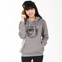 2017 BTS Sweatshirts Unisex BTS Bangtan Boys Hoodies K Pop BTS Shirt Winter Cotton Men Women