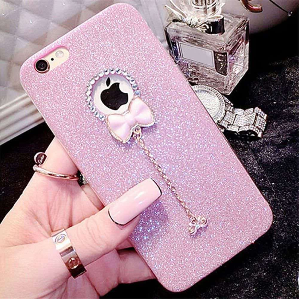 <font><b>For</b></font> <font><b>iphone</b></font> 7 Plus Case Luxury <font><b>For</b></font> Women <font><b>Girls</b></font> <font><b>For</b></font> capinha para <font><b>iphone</b></font> 6s Glitter bling Case <font><b>For</b></font> <font><b>Iphone</b></font> 5 5S SE 7 8 <font><b>6</b></font> Plus X XS image