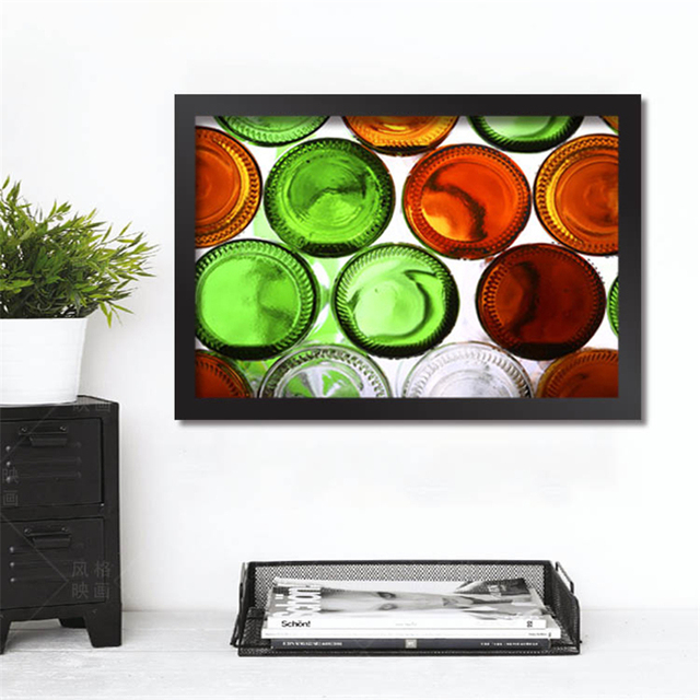 Personality Poster Beer Canvas Painting Modern Creative No Frame Photo Wall  Pictures For Restaurant Bar Pub