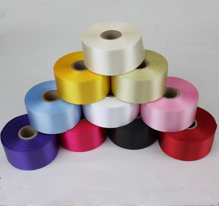 5 Yards of 50mm Wide Polyester Cake Decorating Satin ...