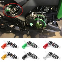 For Kawasaki Z125 Pro Air Shock Absorber Rear Suspension Cushion CNC Aluminum Alloy Motorcycle Accessories
