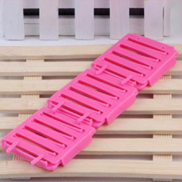 hair curler Roll roller Twist Hair Care Styling stick Roller DIY tools harmless safe plastic for lady girls small board wh
