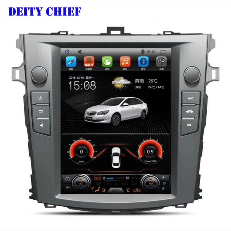 Android Multimedia Player for TOYOTA COROLLA radio 2007 2013 GPS Navigation Player