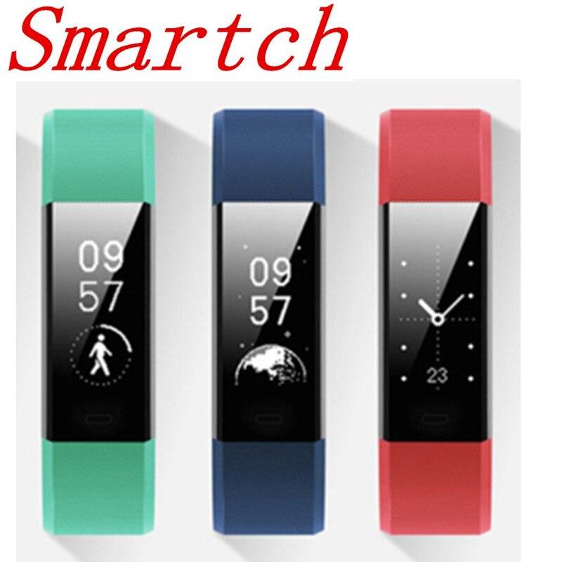 Smartch ID115 más APP GPS Activity Tracker pulsera inteligente Monitor de ritmo cardíaco Smart Band Bluetooth cámara remota y banda de música