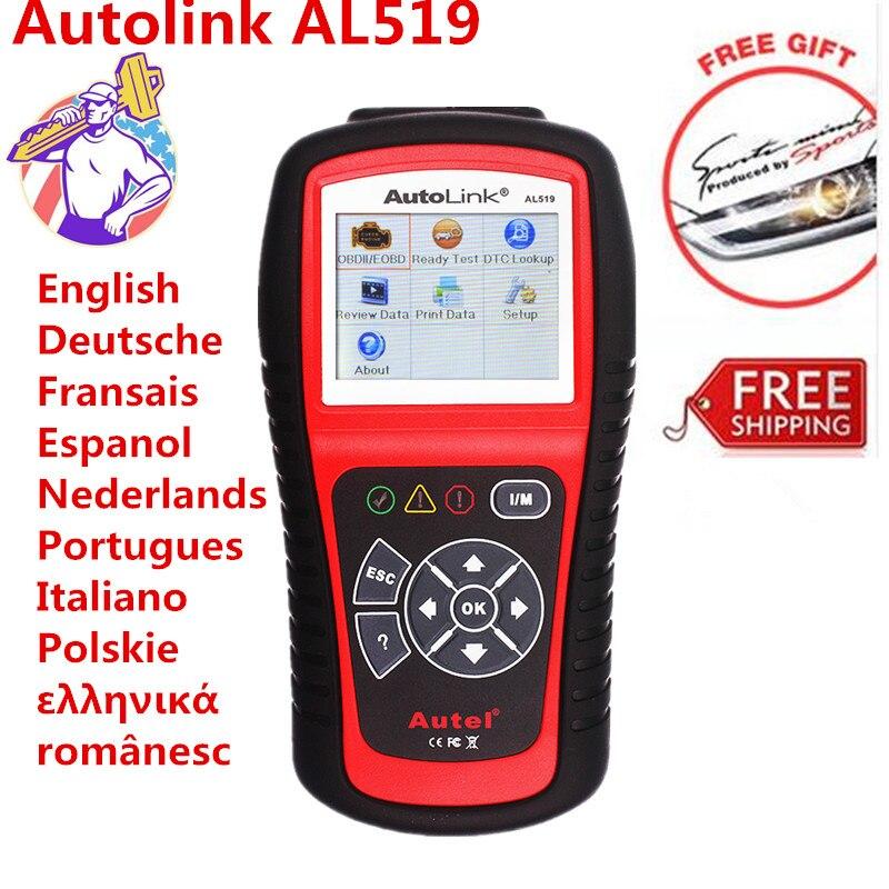 AutoLink AL519 OBD2 EOBD Car Fault Code Reader Automotive Diagnostic Scan font b Tool b font