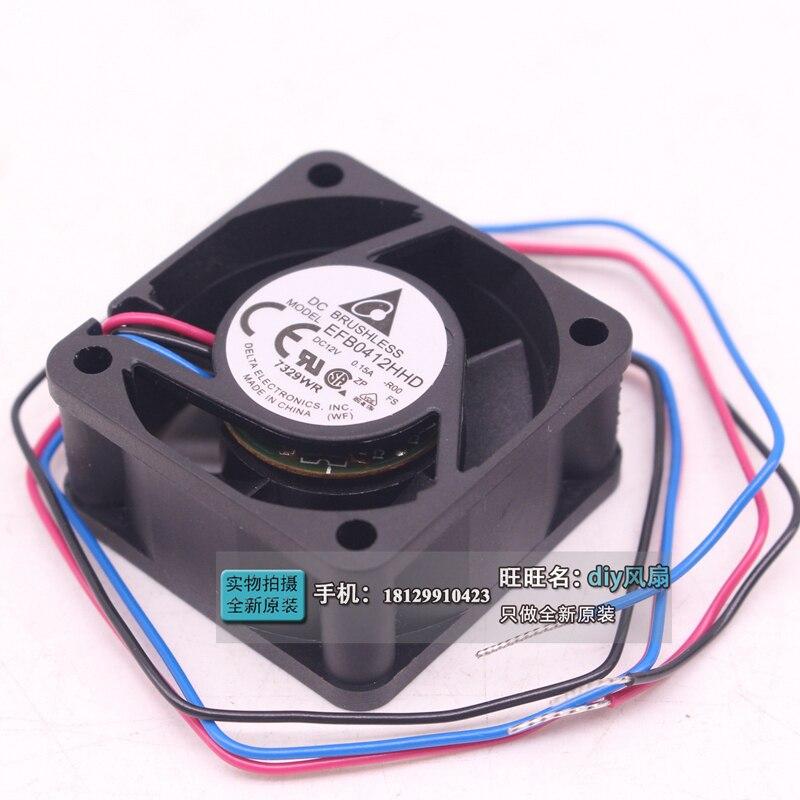 DELTA EFB0412HHD R00 DC 12 V 0.15A 40x40x20mm Serveur Carré Fan