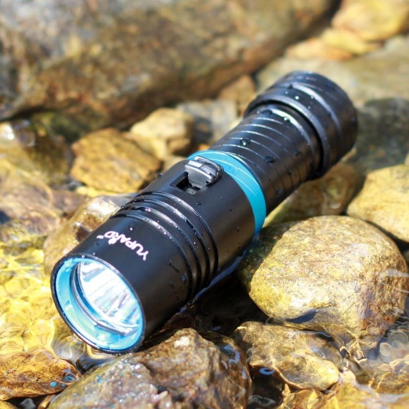 XM-L2 T6 LED Водонепроницаемый Погружения Под Водой 80 М белый желтый LED diver Дайвинг Фонарик Факел Лампы Свет Кемпинг Lanterna