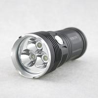 New Arrival 5000 Lumens 3XCree XML T6 LED Hunting Flashlight High Low Strobe 3 Modes White Lights Hard Light Torch