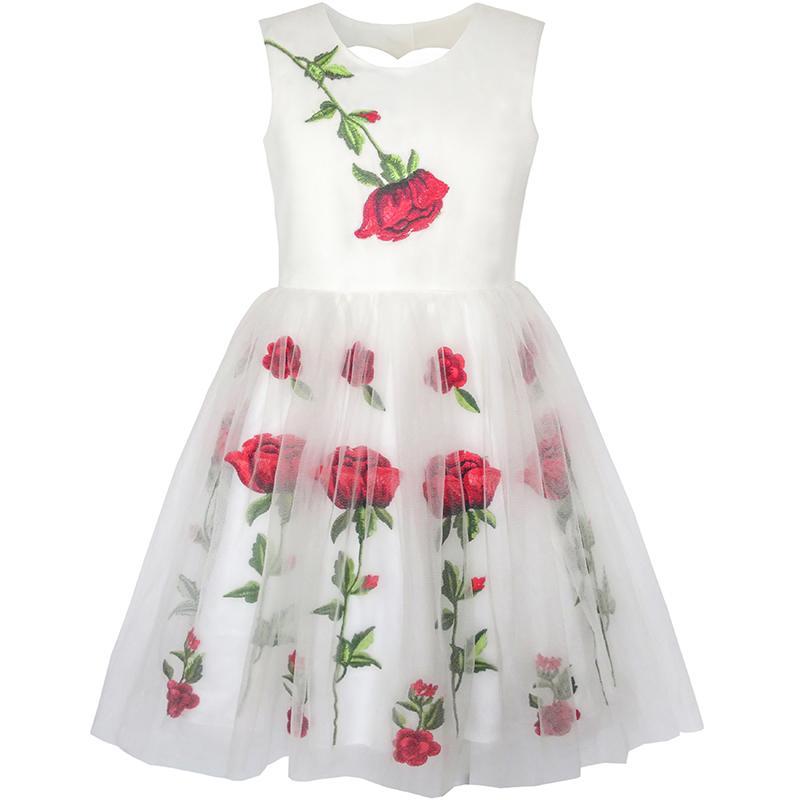 Платья для девочек в форме цветка