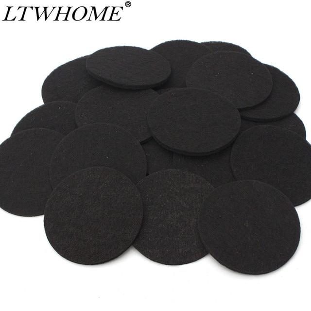 LTWHOME-tampons filtrantes à charbon actif | Adaptés à Eheim Ecco Pro 130/200/300 Ecco 2232/2234/2236