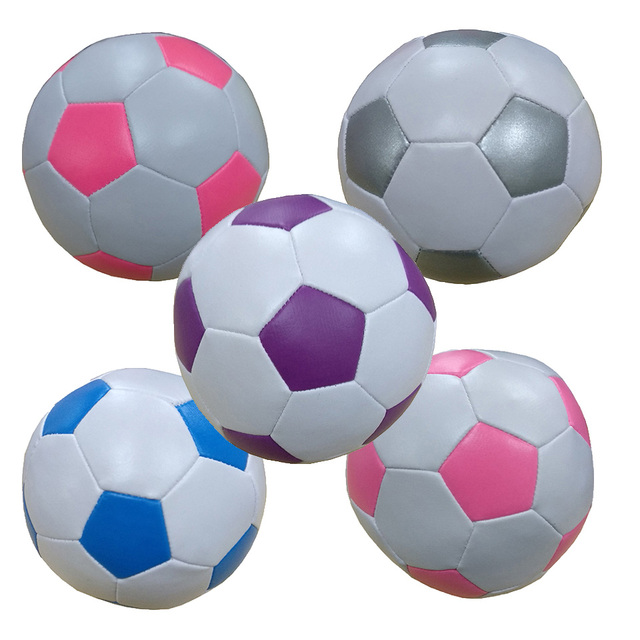 New Design Kawai Colorful Stuffed Toy Balls Children Soccer Balls