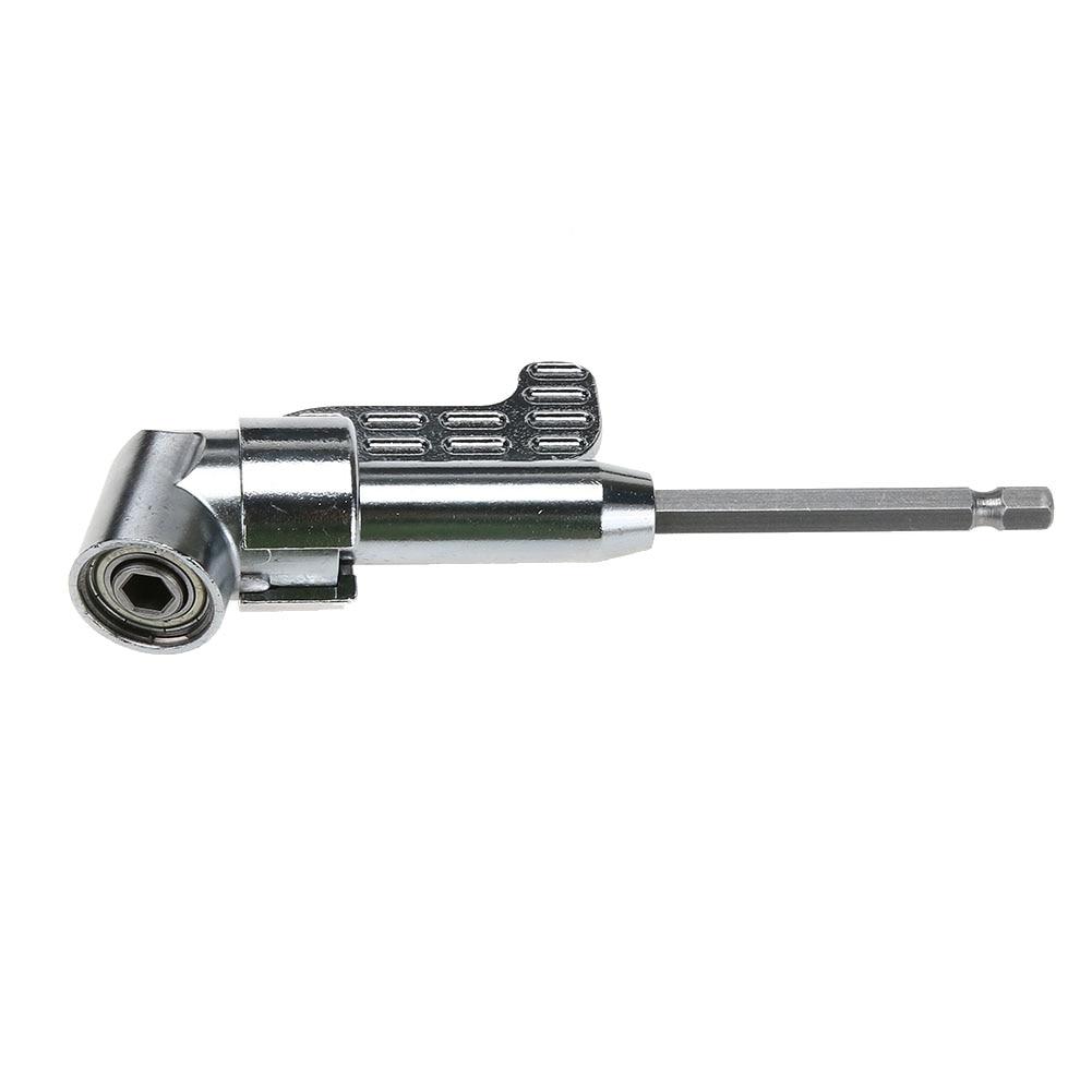 105 degrees 1/4 Extension Hex Drill Bit Adjustable Hex bit Angle Driver Screwdriver Socket Holder Adaptor tools