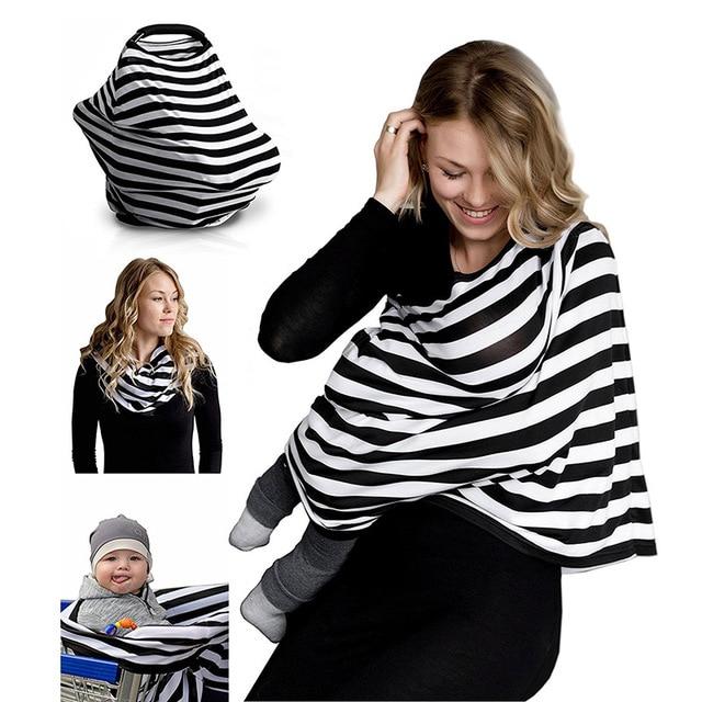 6bfb7e7f8b5 Newborn Nurse Garment Infinity Women pregnancy clothes Baby Nursing Cover  Scarf Breastfeeding Stretchy Infant Cart Seat