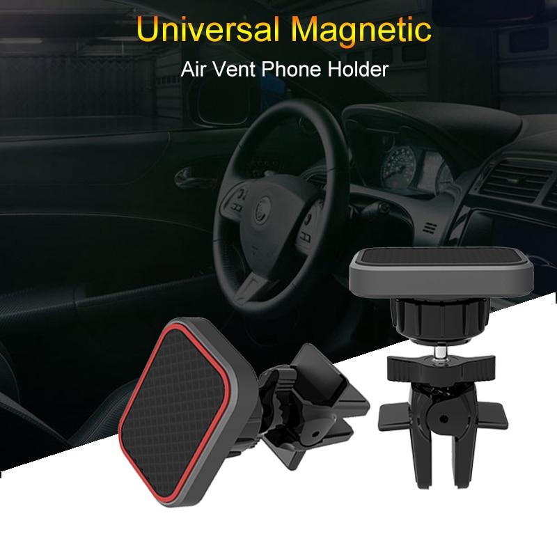 Upgraded Universal Magnetic Car Holder Air Vent Mount 360 Rotation Smart Magnet Car Phone Holder For IPhone Samsung Mobile Stand