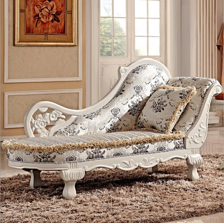 Hot Sale Sofa French Design Fabric Couches Living Room Furniture Sofa Chaise Lounge Pfy10034