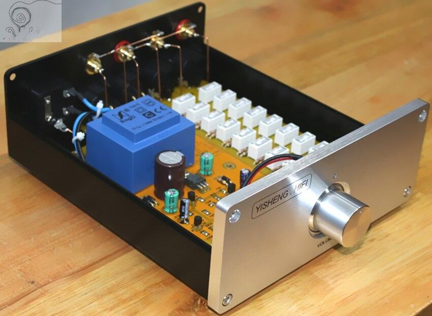 Contrôleur de volume de relais pré amplificateur équilibré préamplis DAC version équilibrée préamplificateur RCA à XLR/XLR à RCA