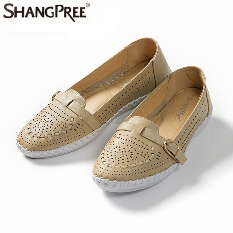 Summer Manual Suture Hollow Air Permeability Oxford Shoes Leisure For Women  Platform Su ...