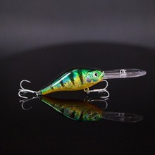 Long Lip Wobblers Crankbait Hardbait 10cm 15.5g Far Casting Laser Printing With Protection Layer Rattles Camping Fishing Lure