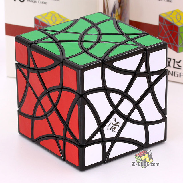 Magic Cube puzzle Dayan 16 axis 3 rank cube ShuangFeiYan strange shape professional speed educational cube twist wisdom gift toyPuzzles & Games
