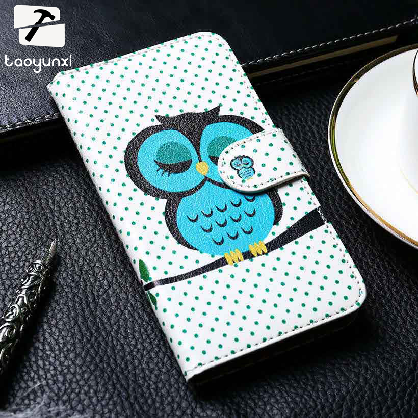 TAOYUNXI PU Leather Phone Cover For Huawei Honor Mate 3X 4X 3C 4C 6 6 Plus