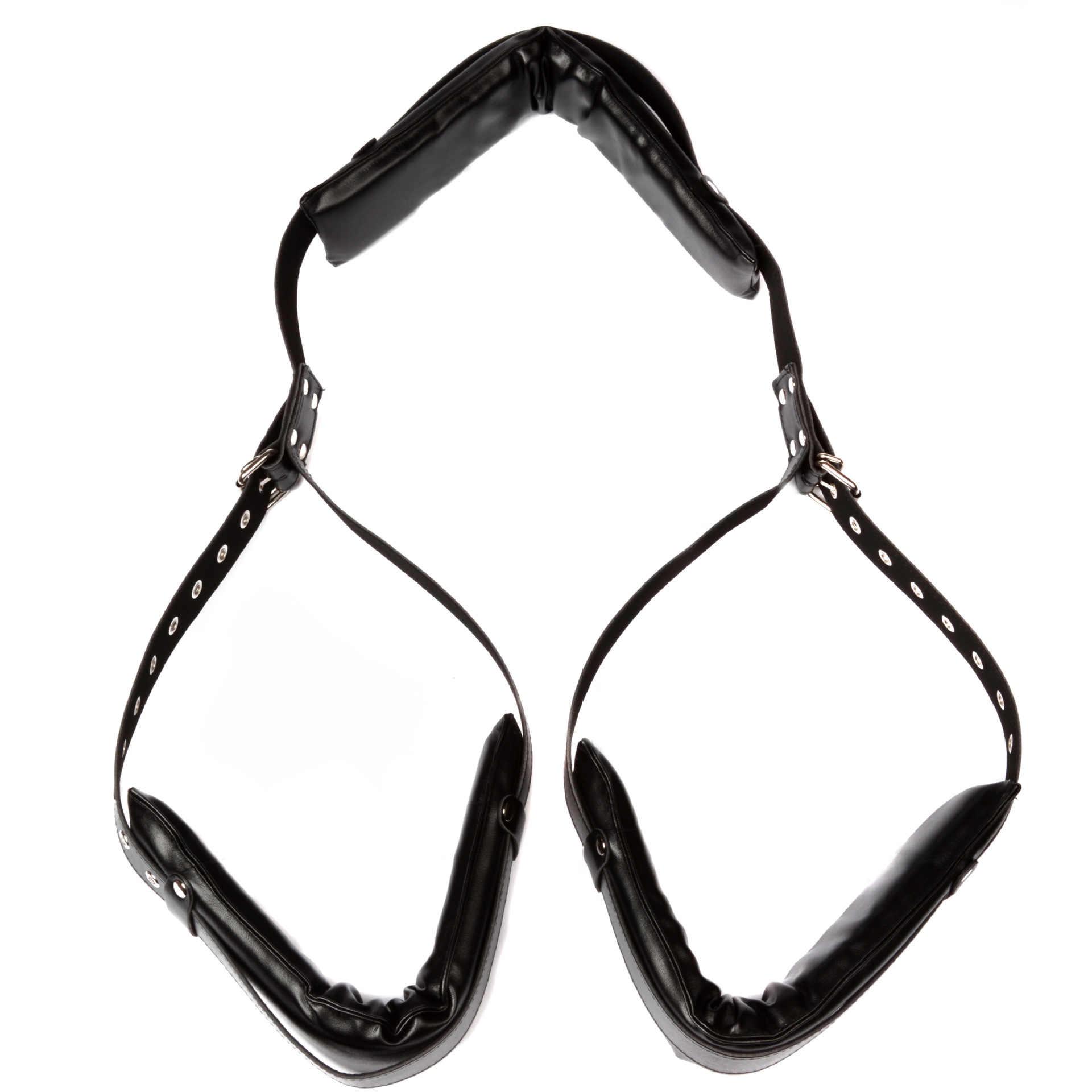 إسفنجة جلدية BDSM قيود عبودية مفتوحة الساق الكبار SM لعبة كبح الحبال الجنس سوينغ للنساء الجنس لعب للبالغين الأزواج