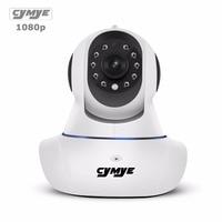 Cymye Wifi IP המצלמה wifi 1080 P ראיית הלילה אלחוטי טלוויזיה במעגל סגור מצלמת אבטחת מיני כרטיס SD P2P בית מקורה מצלמת Telecamera