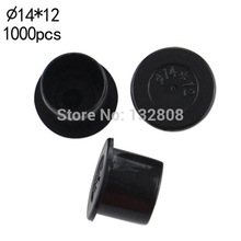 14MM Tattoo Inkcups Caps 1000pcs Plastic Tattoo Pigment Ink Cup Self-standing Large Size Black Cup Supply Tattoo