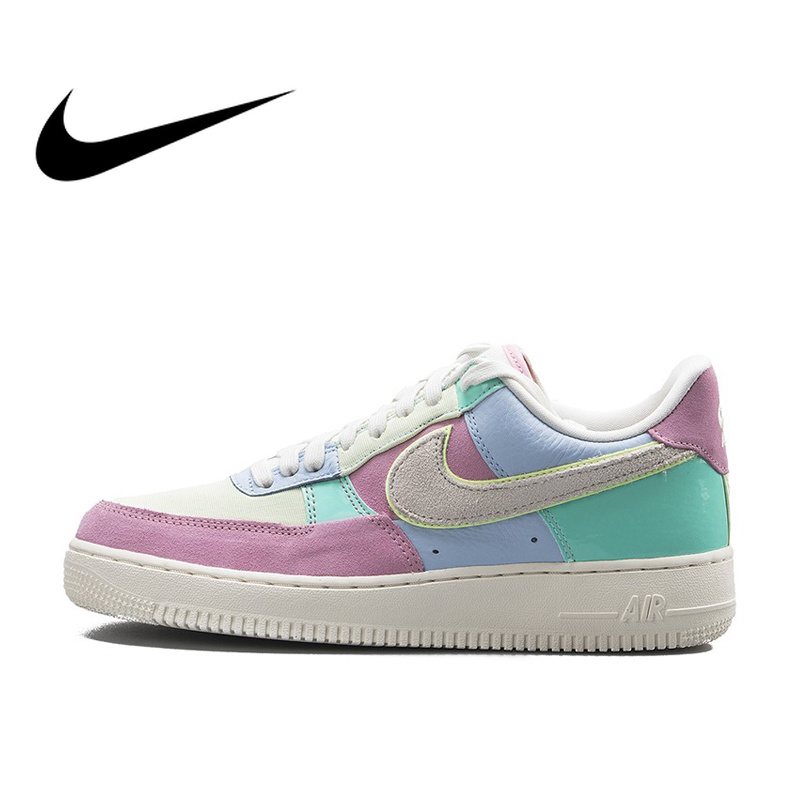 Original Authentic Nike Air Force 1 One Low Help AF1 Men's Skateboarding Shoes Male Outdoor Sneaker Light Weight Shoes AH8462