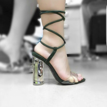 Simple Style Women Sandals PVC Jelly Ladies Shoes Summer Style Ankle Strap Wrapped New Arrival 2016 Custom Colors Plus Size
