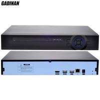 GADINAN H 265 H 264 8CH 4MP 4CH 5MP 16Ch 960P CCTV Security NVR Recoder P2P