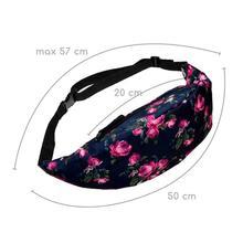 Jasmine Traveling Fashion Belt Waist Bag Pouch Zip Fanny Pack Sep27