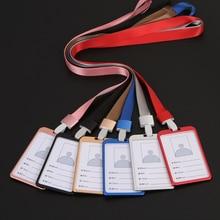 Card-Holder Business-Case Identity Badge Name Aluminium-Alloy Work-Certificate Employee