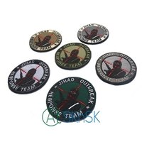 Cheap Price Glue Jihad Outbreak Response Team Embroidery 7 4cm Iron On Funny Military Patch