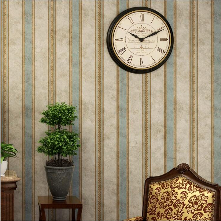 цены 2018 Vintage Classic wallpaper roll Non-woven fabric for bedding living room TV Background Wall Paper papel de parede WP18009
