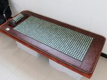 Free Shipping! Natural Tourmaline Cushion Jade Heat Mat Physical Therapy Health Care Mat Jade Yoga Pad AC220 Size 80X170cm