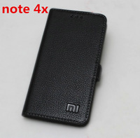Genuine For Xiaomi Redmi Note 4x Leather Case Cover Luxury Book Flip Leather Case For Xiaomi