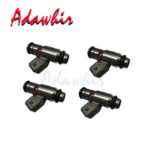 4 pieces x FUEL INJECTOR NOZZLE For VW Golf IV BJ99 1.4 L 55KW iwp058 0280158171 036906031C 805000347507