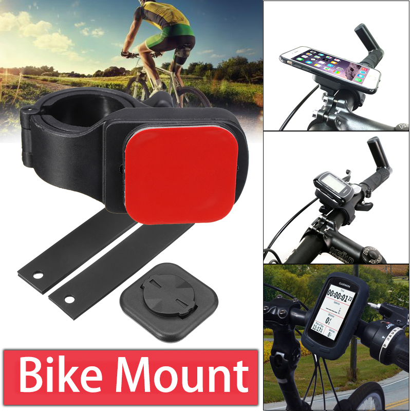 Universal Sticky Fixed Bracket Bicycle Handlebar Holder Handle Mountain Bike Mount Rack for Mobile Phone Smartphone ...