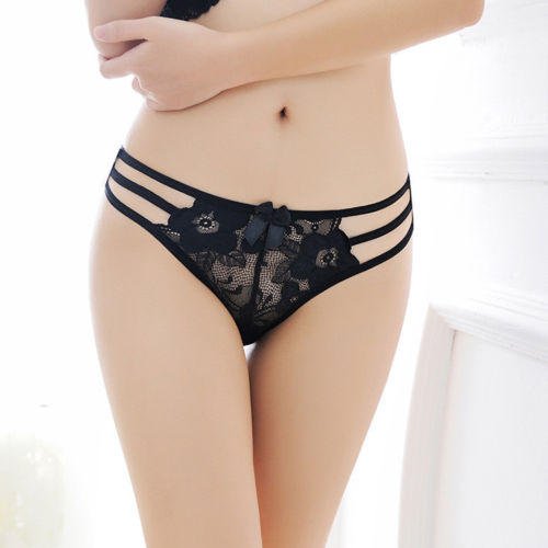 b5f2e782997263 Aliexpress.com   Buy Womens Ladies Sexy Panties G string Briefs Lace  Underwear Panties Thongs Knickers Black Blue Green from Reliable thong  knickers ...