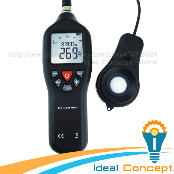 0-200,000 Measurement Range Lux Light Meter Digital Instrument Lux Portable Auto Ranging Tool with Backlight квартир луганск продам 200 000 тыс гривень