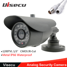 """1/3 """" SONY CMOS 1200TVL cámaras de seguridad cámara de vigilancia CCTV HD CMOS IR Cut 36 Led infrarrojos Nerwork CCTV cámara exterior"""