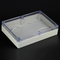 1 Piece Lot 263 182 60mm Clear ABS Plastic IP65 Waterproof Enclosure PVC Junction Box