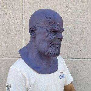 Image 4 - Gants de luxe pour Thanos, gants, Cosplay, masques pour bras, accessoires de Collection fête dhalloween