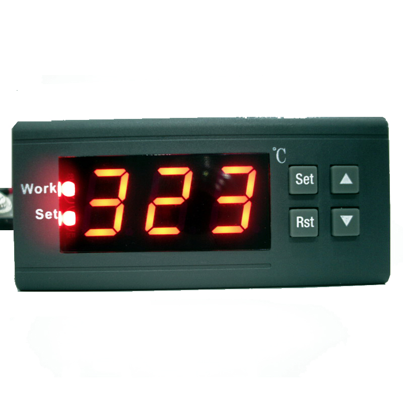 все цены на WH1435D 0~999 degree 5A PID Electronic Digital Thermostat High Temperature Controller Switch & 1 Celsius Control Resolution онлайн