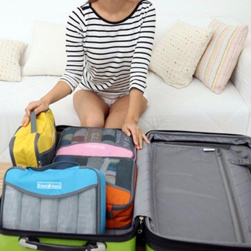 LDAJMW Nylon Waterdichte materiaalgaas Reisbagage Verpakking Netto - Home opslag en organisatie - Foto 2