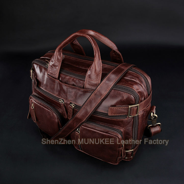 dark Messager Bandoulière Cross tout Main Cuir Body Sac Sur À Week High Brown Hommes Class Fourre Transporter end En Sling Véritable Brown Red 41zxwxFq